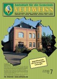Juli 2009 - Gemeinde Vettweiss