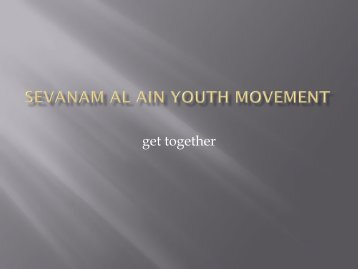 Sevanam Al Ain Youth Movement
