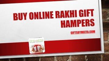 Buy online rakhi gift hampers from GiftsbyMeeta