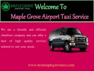Airport Transfers in Minnesota