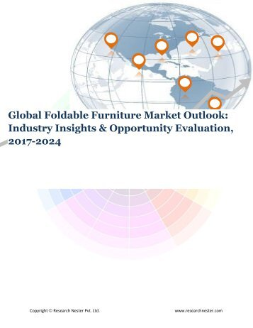 Global Foldable Furniture Market (2017-2024)- Research Nester