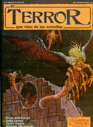 La Llamada de Cthulhu - El Terror que vino de las Estrellas
