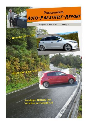 Auto-Praxistest-Report 25