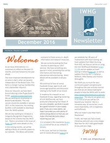 Newsletter December 2016 final