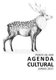 Agenda Cultural de junho 2017