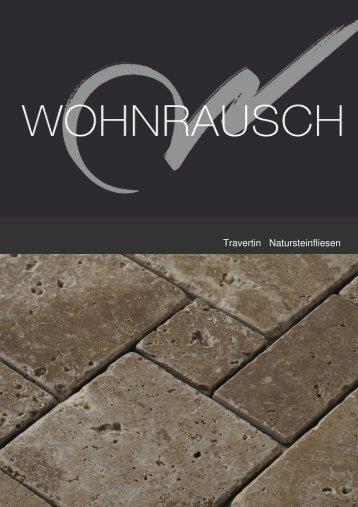 Travertin Natursteinfliesen 2012 - Wohnrausch