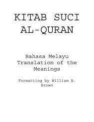 Malay Translation of the Quran