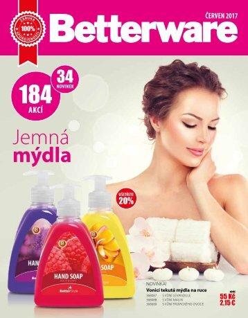 Betterware Czech Team katalog červen 2017