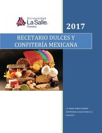 RECETARIO DULCES Y CONFITERIA MEXICANA FINAL 2017