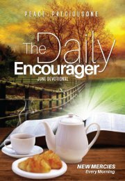 THE DAILY ENCOURAGER - JUNE EDITION
