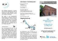 Information / Anmeldung bei - Internationaler Bund
