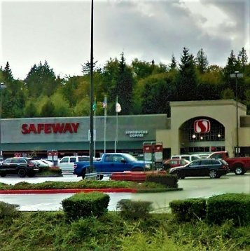 Safeway 2.8 miles to the north of Current Dental Bremerton WA