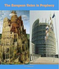 The European Union in Prophecy by Ellen White