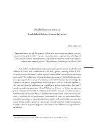 Mónica Charrua - Uma Reflexão em torno de Rivalidades Globais e Causas da Guerra