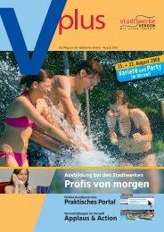Vplus August 2009 - Stadtwerke Verden GmbH