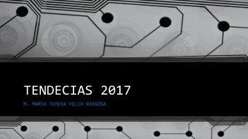 TENDECIAS 2017
