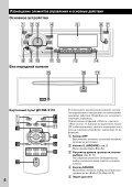 Sony CDX-GT55iP - CDX-GT55IP Mode d'emploi Ukrainien - Page 6