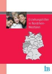 Erziehungshilfen in Nordrhein- Westfalen - IB: Erziehungshilfen