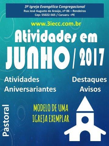 3ªIECC - Atividades Junho 2017