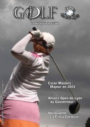 Evian Masters : Majeur en 2013 Allianz Open de ... - Golf Rhône-Alpes