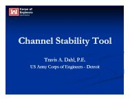 Channel Stability Tool