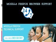 Mozilla Firefox Toll Free 1 800-358-0071 Phone number