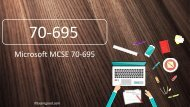 ExamGood 70-695 Deploying Windows Desktops and Enterprise Applications Exam Dumps