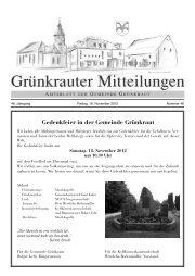 13. Lebendiger Adventskalender - in der Gemeinde Grünkraut