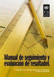 Manual de seguimiento y evaluación de resultados