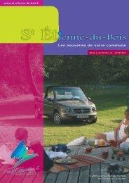 MAQUETTE DEF. 1 - Saint-Etienne-du-Bois