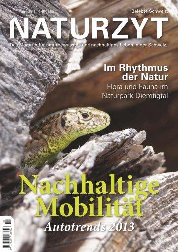 NATURZYT Magazin, Ausgabe 1, April 2013