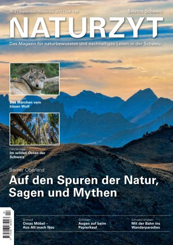 NATURZYT Magazin, Ausgabe 2, September2013