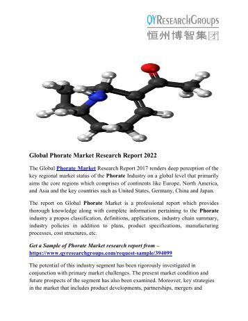 Global Phorate Market Research Report 2017