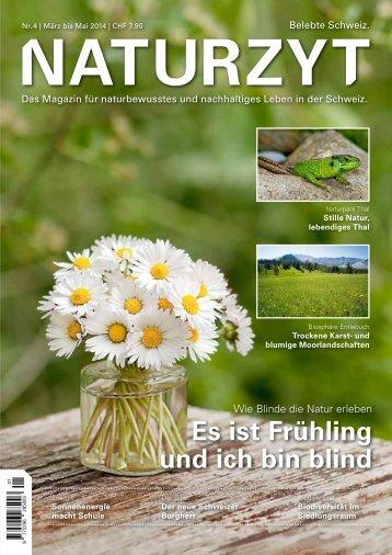 NATURZYT Magazin, Ausgabe 4, März 2014