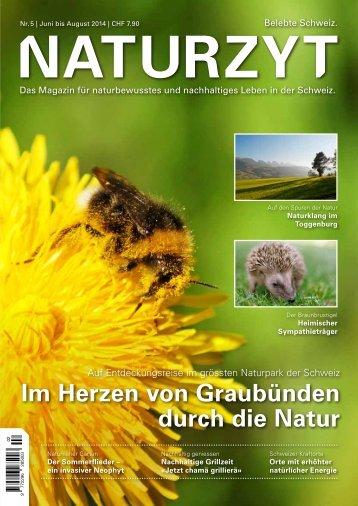 NATURZYT Magazin, Ausgabe 5, Juni 2014