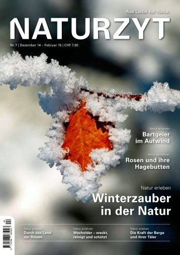 NATURZYT Magazin, Ausgabe 7, Dezember 2014