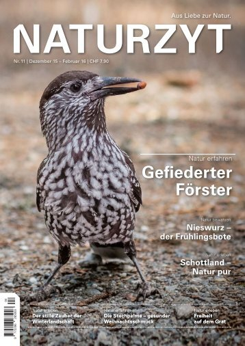 NATURZYT Magazin, Ausgabe 11, Dezember 2015
