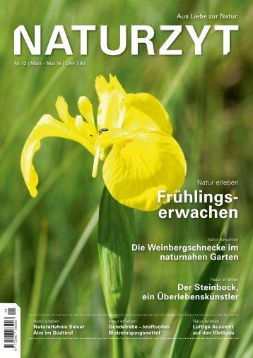 NATURZYT Magazin, Ausgabe 12, März 2016