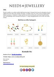 Køb Mode Smykker Online Til En Billig Pris I Danmark