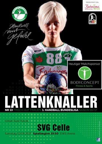 Lattenknaller 13 - 13.05.2017 - Saison 2016/17 - FRISCH AUF Frauen