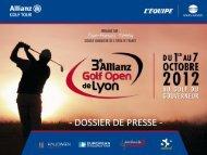 Le Golf à un tournant de son histoire - Golf Open Lyon