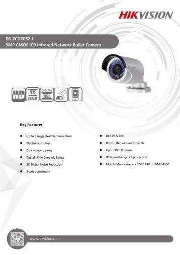 DS-2CD2052-I (4mm,6mm)
