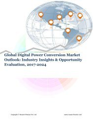 Global Digital Power Conversion Market (2017-2024)- Research Nester