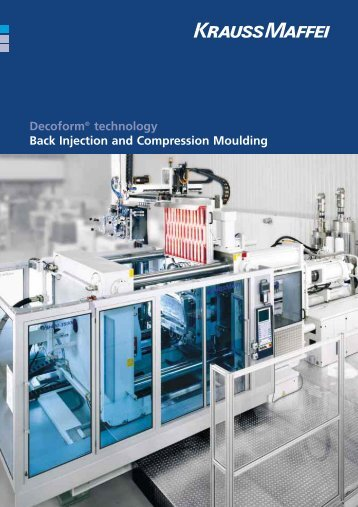 Decoform® technology Back Injection and Compression Moulding