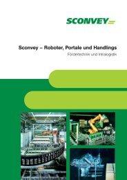 SCONVEY Roboter, Portale … - Sconvey GmbH