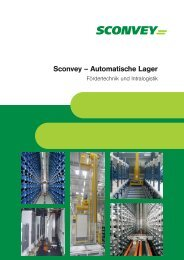 SCONVEY Autom. Lager - Sconvey GmbH