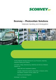 SCONVEY Photovoltaic engl - Sconvey GmbH