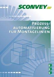Prozess- automatisierung für Montagelinien - Sconvey GmbH
