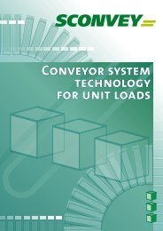 Accumulation roller conveyors - Sconvey GmbH