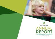 Spurwink 2016 Annual Report